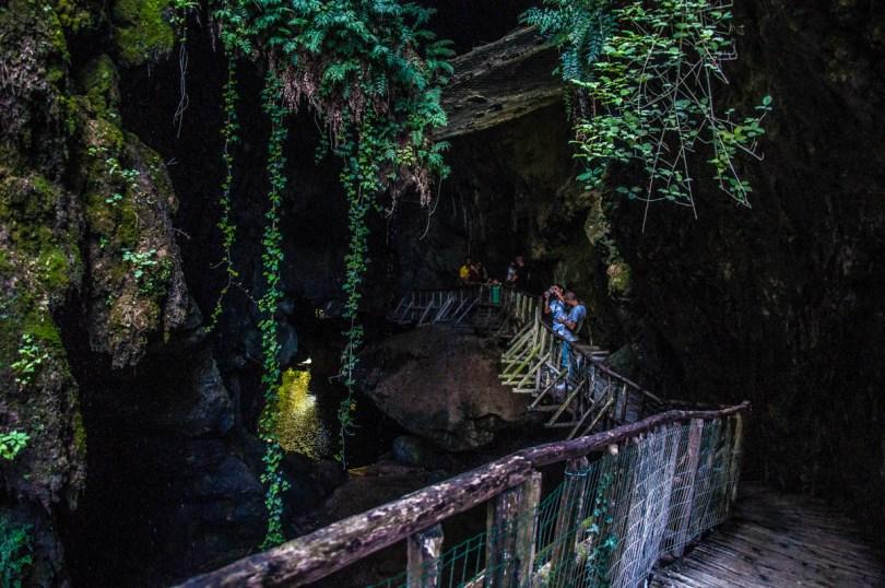 A view of Grotte di Caglieron, Fregona, Veneto, Italy - www.rossiwrites.com