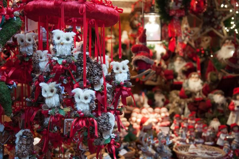 Christmas owls - Christmas Market - Verona, Italy - rossiwrites.com