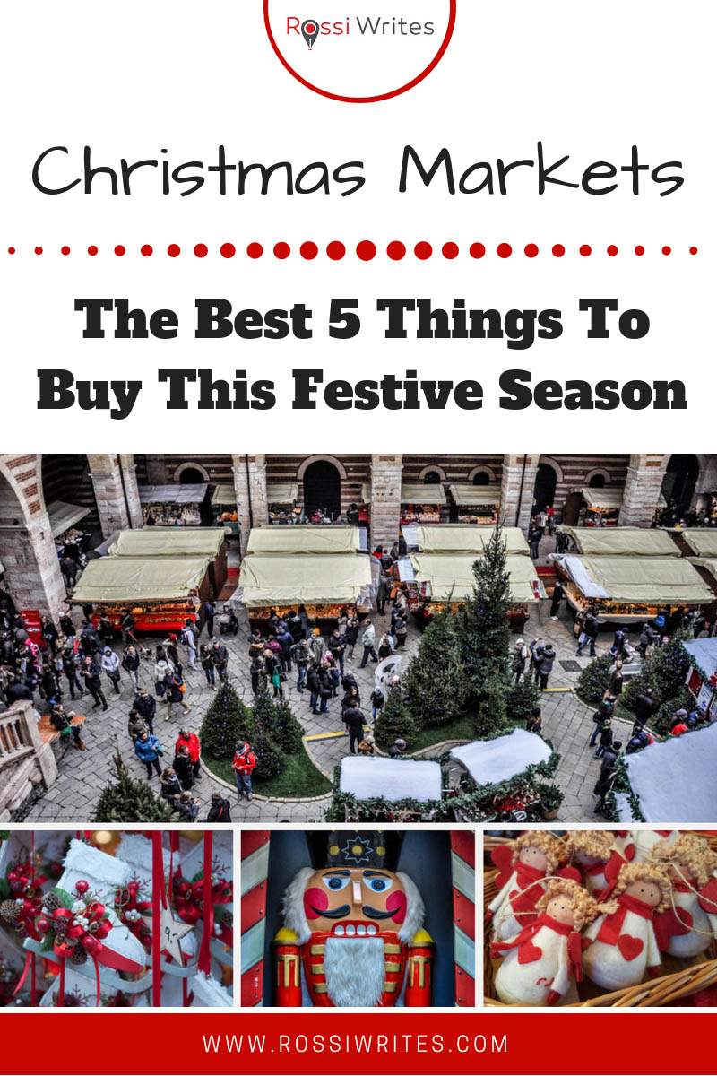 Christmas markets are great places to shop for unique artisan gifts. Find out the best 5 things to buy at a Christmas market near you. Click here for more... #travel #europe #shopping