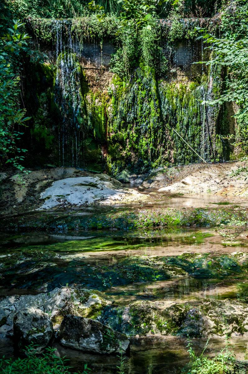Waterfall - Grotte di Caglieron, Fregona, Veneto, Italy - www.rossiwrites.com