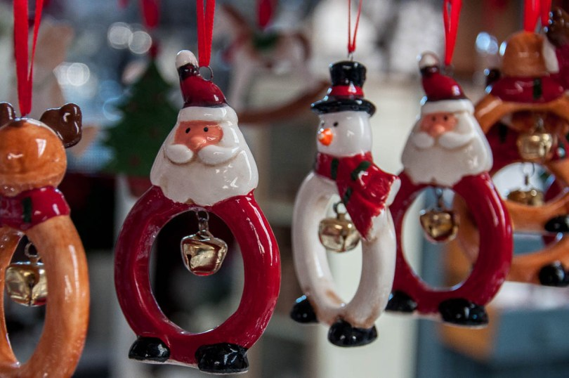 Ceramic Christmas toys - www.rossiwrites.com