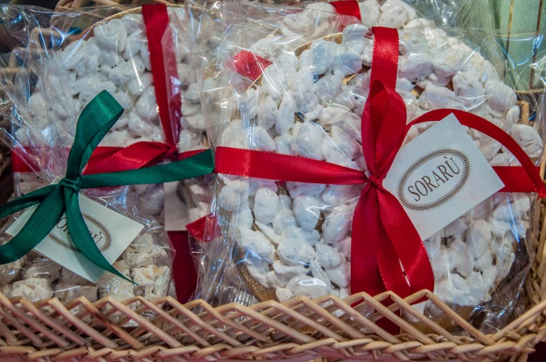 Handmade mandorlato - Pasticceria Soraru - Vicenza, Veneto, Italy - rossiwrites.com
