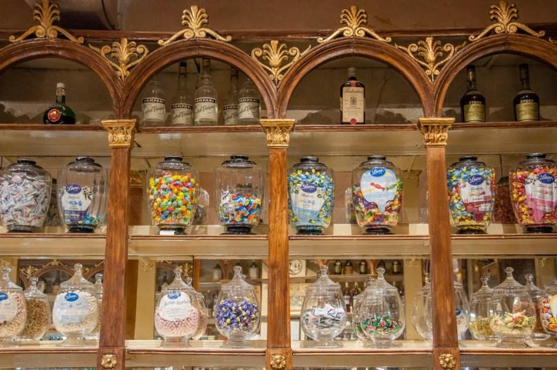 The interior of Pasticceria Soraru - Vicenza, Veneto, Italy - www.rossiwrites.com