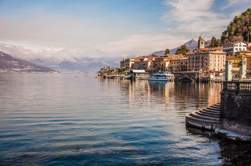 Panoramic view of Bellagio - Lombardy, Italy - www.rossiwrites.com