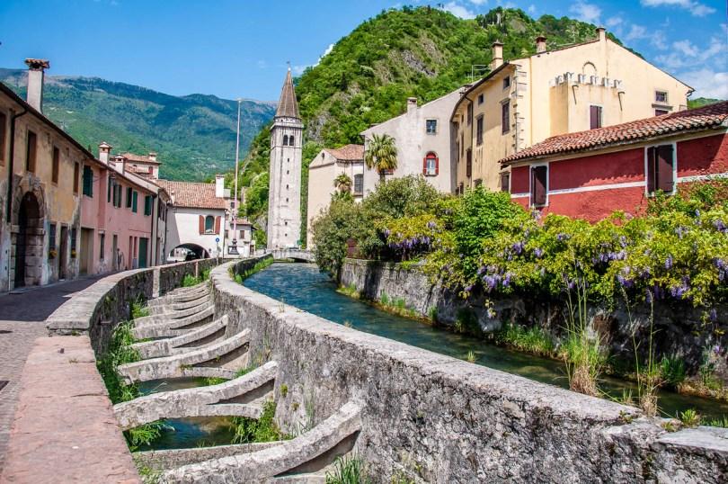 View of historic Serravalle - Vittorio Veneto, Italy - rossiwrites.com