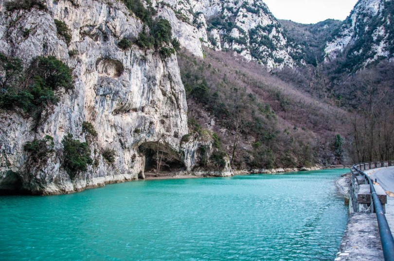 The Furlo Pass and Gorge - Marche, Italy - www.rossiwrites.com