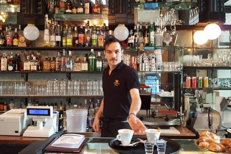 Caffe Vittorio Emanuele - Piazza Maggiore - Bologna, Emilia-Romagna, Italy - www.rossiwrites.com