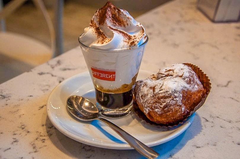 Marocchino coffee - Padua, Italy - rossiwrites.com