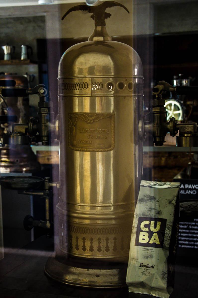 Victoria Arduino - Bontadi Coffee Museum - Rovereto, Italy - www.rossiwrites.com