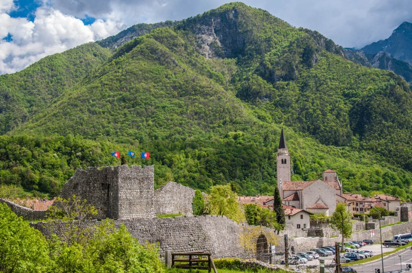 A view of the Italian village of Venzone - Friuli-Venezie Giulia, Italy - www.rossiwrites.com