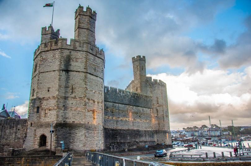 Caernarfon Castle, Caernarfon, Gwynedd - North Wales, UK - rossiwrites.com
