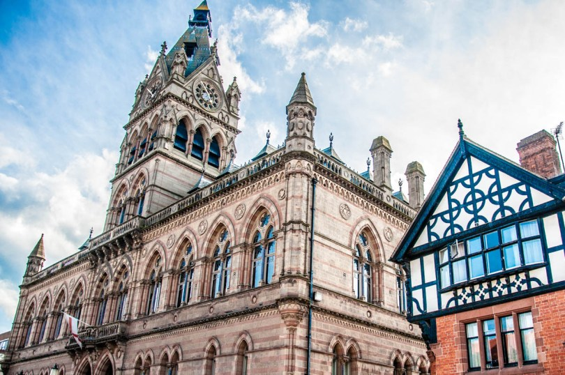 Town Hall - Chester, Cheshire, England - rossiwrites.com