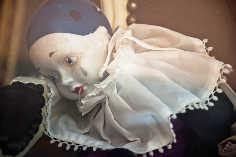 A doll in an antique shop - Cologna Veneta, Veneto, Italy - rossiwrites.com