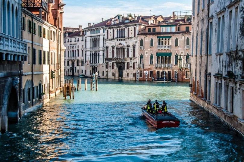 A firemen boat - Venice, Veneto, Italy - rossiwrites.com