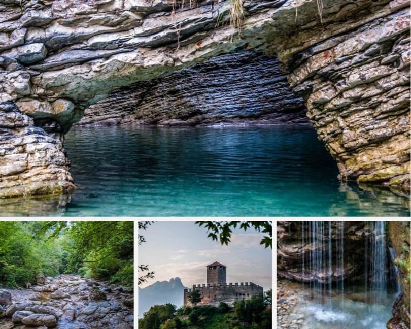 Hiking in the Dolomites- Grotta Azzurra di Mel - A Beautiful Hike in the Veneto, Northern Italy - rossiwrites.com