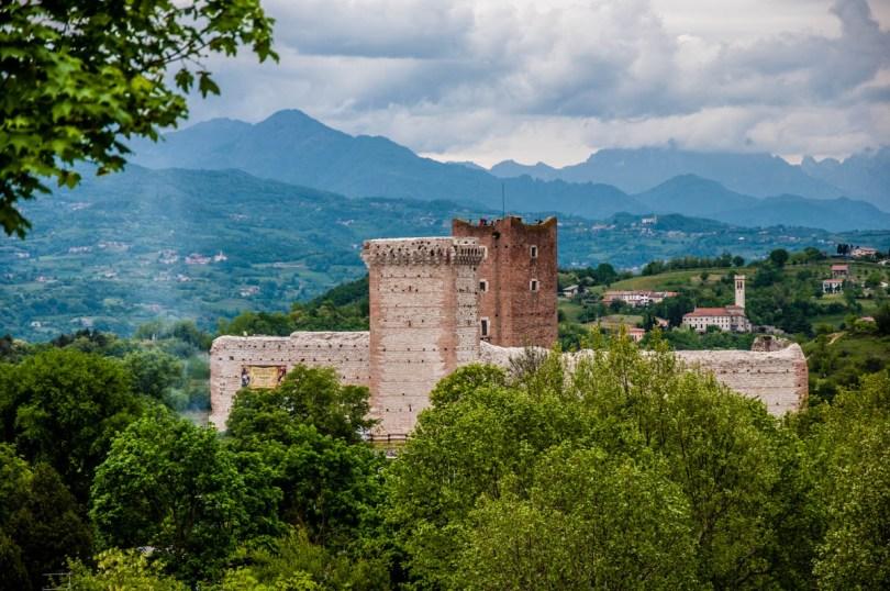 Castello della Villa also known as Romeo's Castle - Montecchio Maggiore, Veneto, Italy - rossiwrites.com