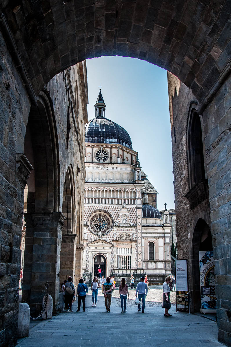 View of the Colleoni Chapel - Bergamo Upper City, Lombardy, Italy - rossiwrites.com