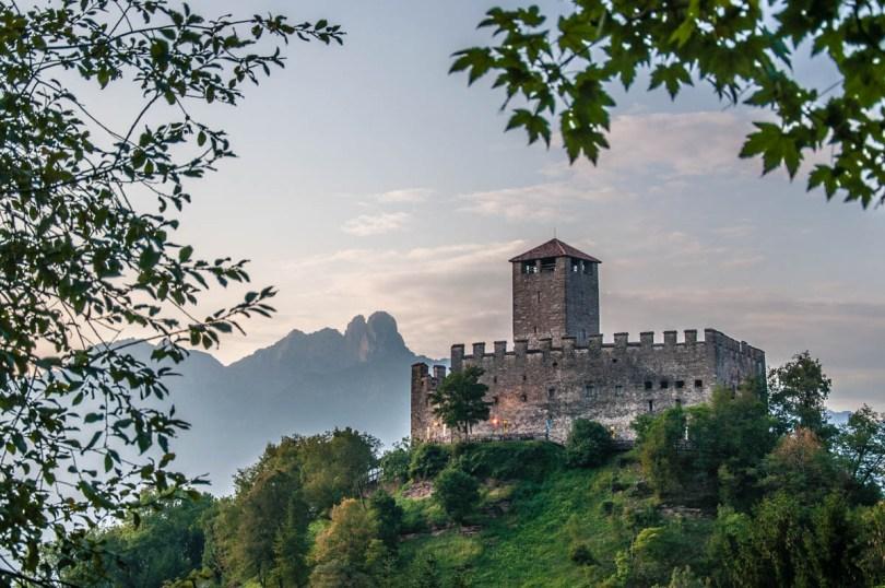 Zumelle Castle - Mel, Veneto, Italy - rossiwrites.com