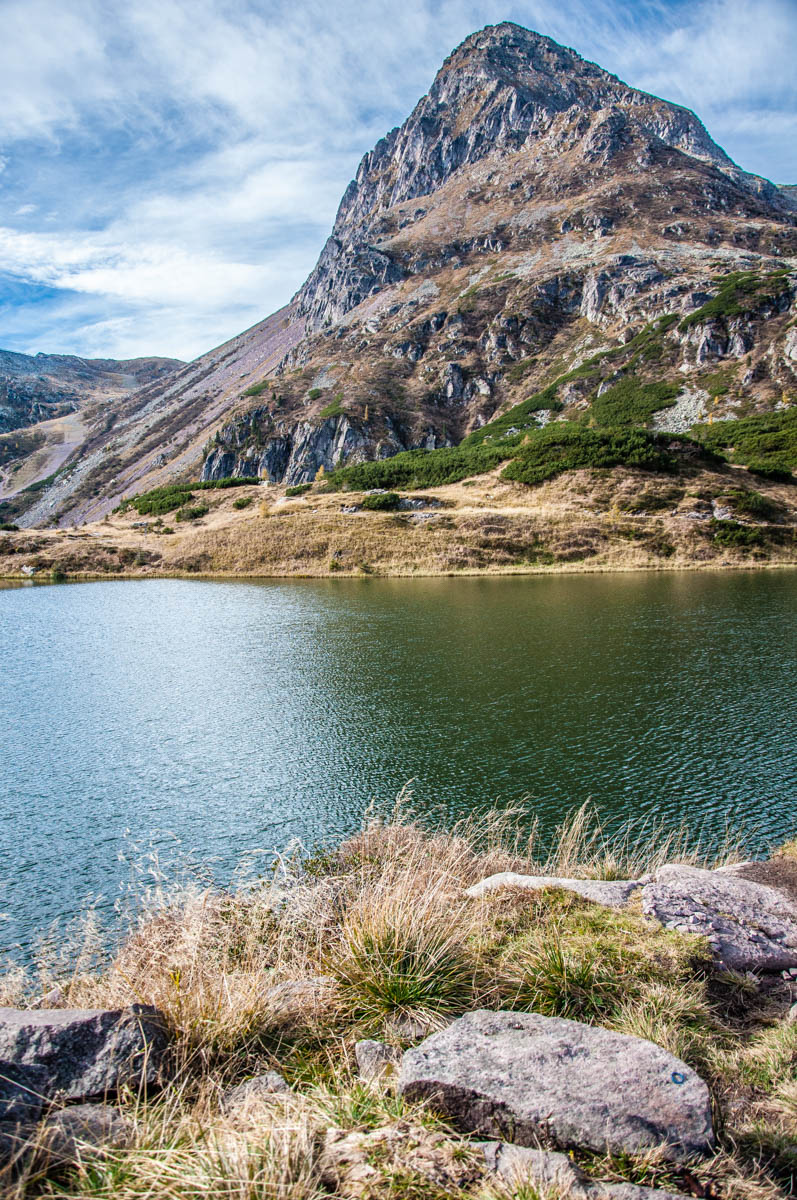 The mountain of Cima di Colbricon with the Lakes Colbricon - Paneveggio - The Violins' Forest - Dolomites, Trentino, Italy - rossiwrites.com