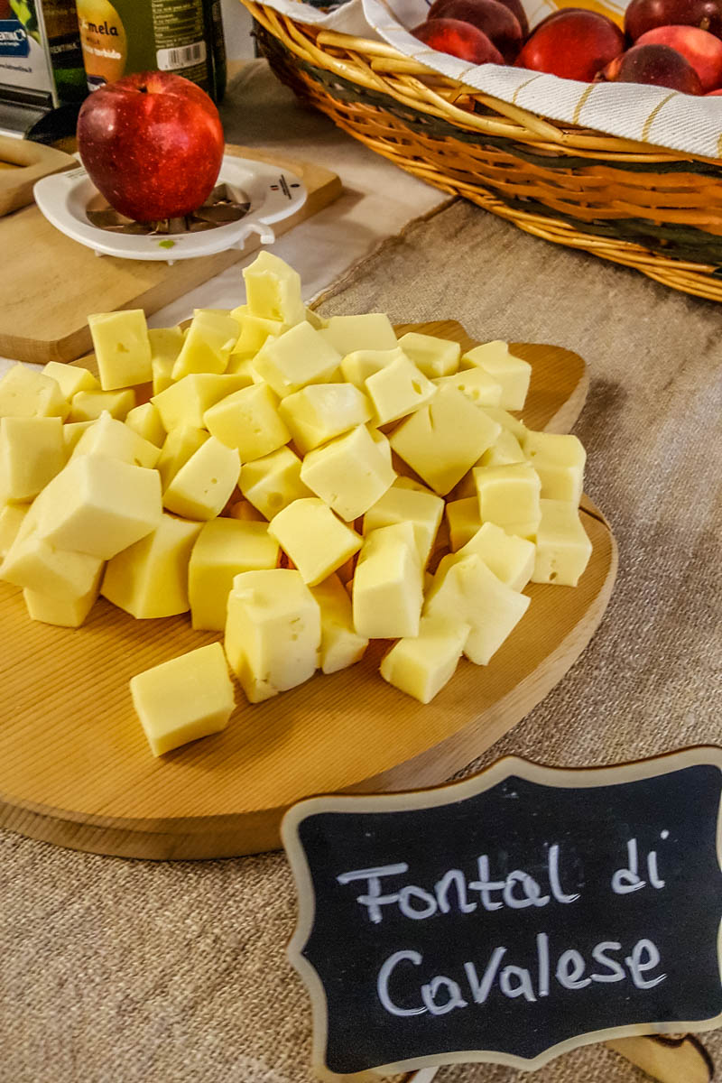 Fontal di Cavalese - Traditional cheese - Dolomites, Trentino, Italy - rossiwrites.com
