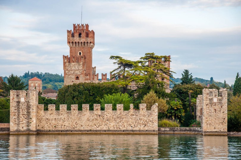 Scaliger Castle - Lazise, Lake Garda, Italy - rossiwrites.com