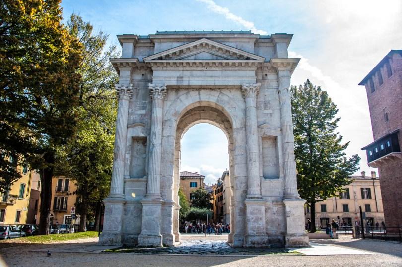 Arco dei Gavi near Castelvecchio - Verona, Veneto, Italy - rossiwrites.com