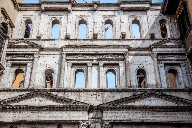 The Roman Borsari Gate - Verona, Veneto, Italy - rossiwrites.com