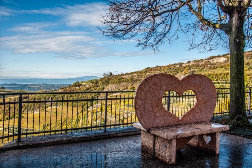 The view from the square of San Giorgio di Valpolicella - Province of Verona - Veneto, Italy - rossiwrites.com