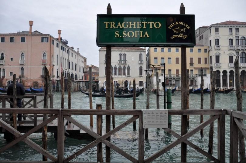 Traghetto - S. Sofia stop - Venice, Italy - rossiwrites.com