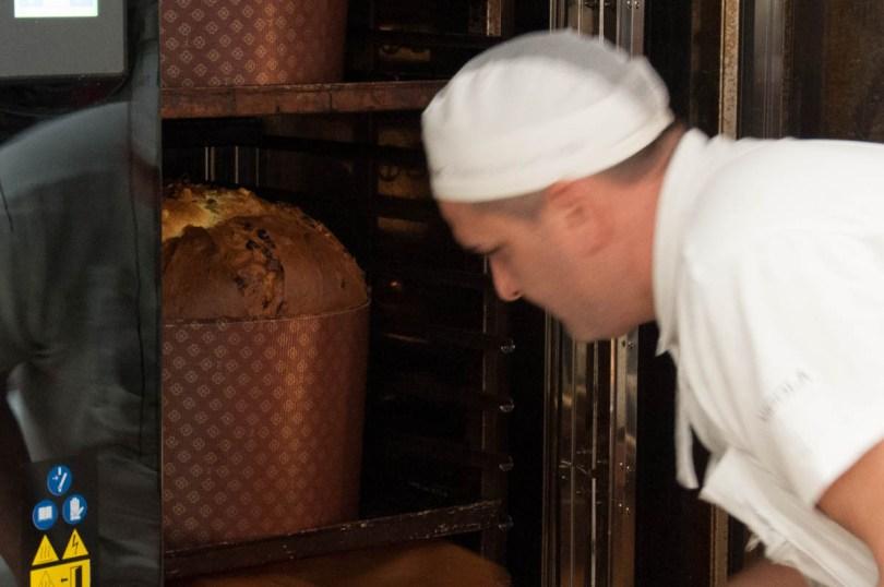 Baking panettones - Loison - Costabissara, Veneto, Italy - rossiwrites.com