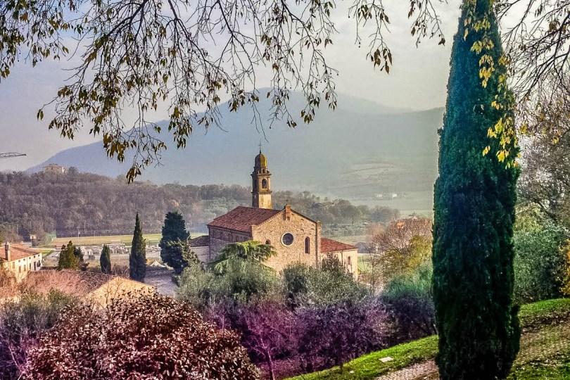 View of Arqua Petrarca - Province of Padua, Veneto, Italy - rossiwrites.com