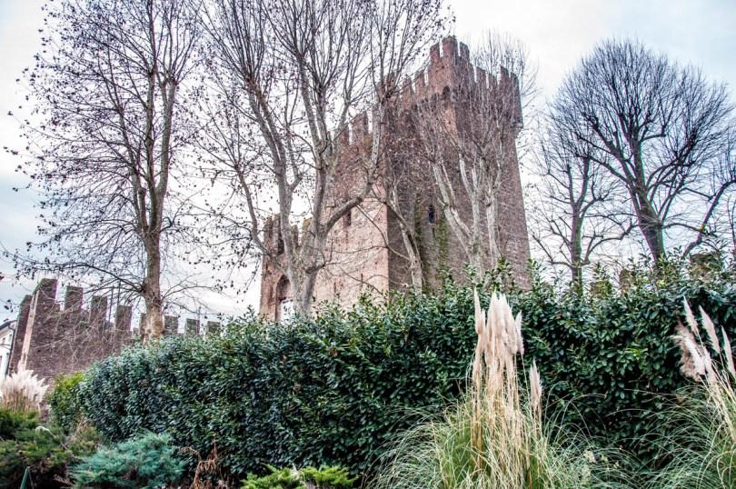 The medieval military stronghold Rocca degli Alberi - Montagnana, Veneto, Italy - rossiwrites.com