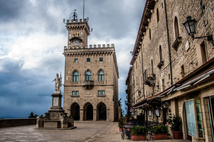 The Public Palace with Liberty Square - San Marino - rossiwrites.com