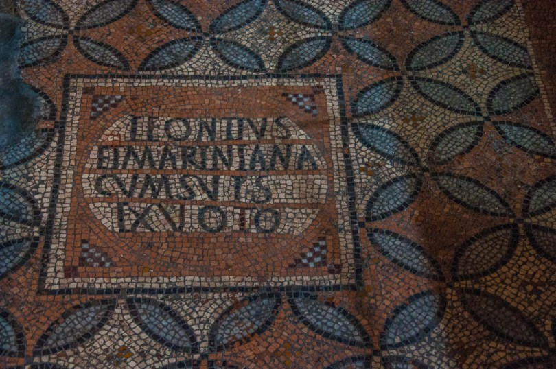 Ancient mosaics - Church of Santi Felice e Fortunato - Vicenza, Italy - rossiwrites.com