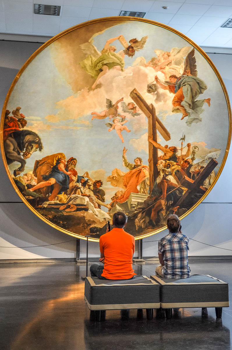 Discovery of the True Cross - Giambattista Tiepolo - Gallerie dell'Accademia - Venice, Italy - rossiwrites.com