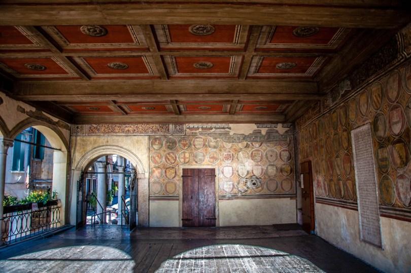 Loggia della Piazza - Bassano del Grappa, Veneto, Italy - rossiwrites.com