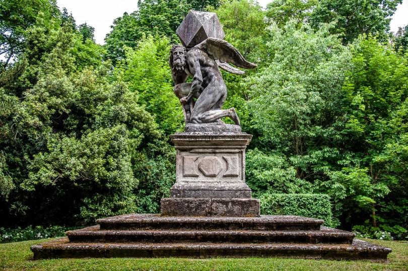 Monument of Time - Giardino Valzansibio - Euganean Hills, Padua, Italy - rossiwrites.com