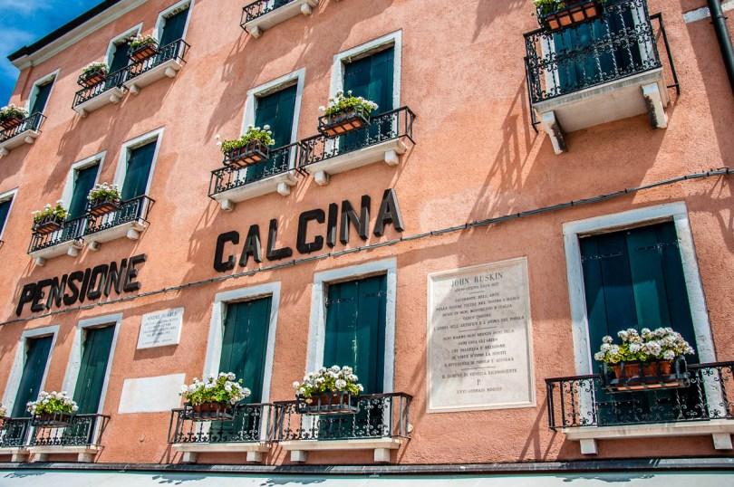 Pensione Calcina on Fondamenta delle Zattere - Venice, Italy - rossiwrites.com