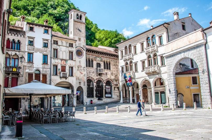 Piazza Flaminio - Serravalle, Vittorio Veneto - Veneto, Italy - rossiwrites.com