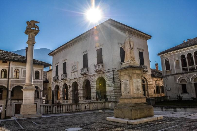 Piazza Maggiore - Feltre - Veneto, Italy - rossiwrites.com