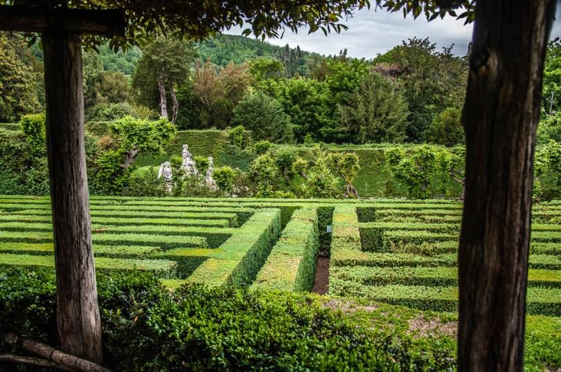 The Labyrinth - Giardino Valzansibio - Euganean Hills, Padua, Italy - rossiwrites.com