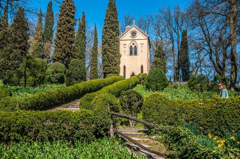The Hermitage in Parco Giardino Sigurta - Valeggio sul Mincio, Province of Verona, Veneto, Italy - rossiwrites.com
