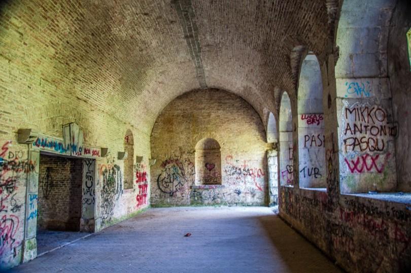 Inside the bastion - Palmanova, Friuli-Venezia Giulia, Italy - www.rossiwrites.com