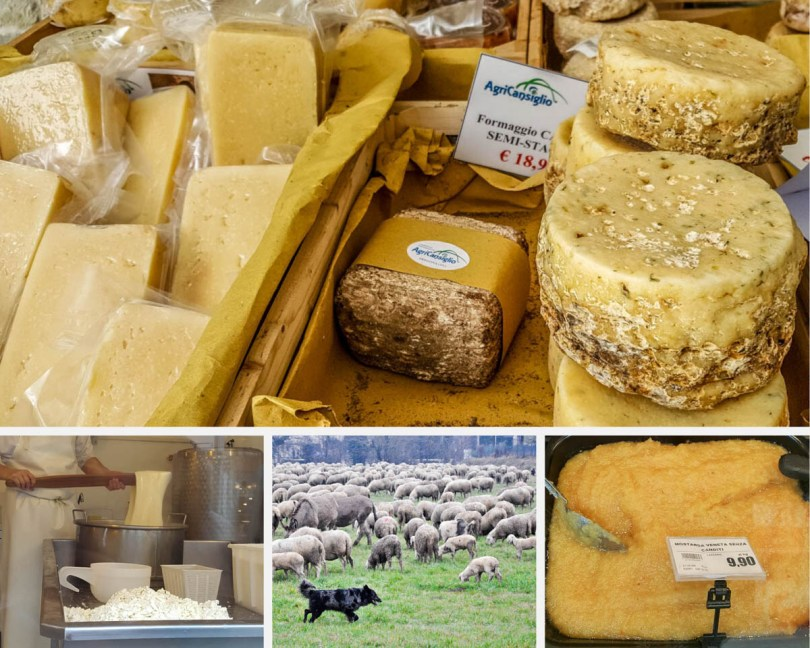 Italian Cheeses - 10 Unmissable Cheese Experiences in the Veneto, Northern Italy - rossiwrites.com