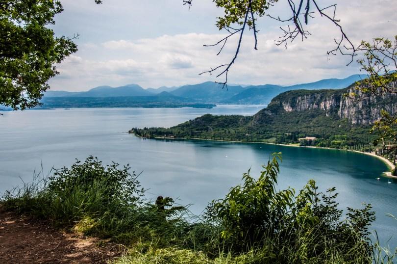 Lake Garda with Punta di San Vigilio - Rocca di Garda, Lake Garda, Italy - rossiwrites.com