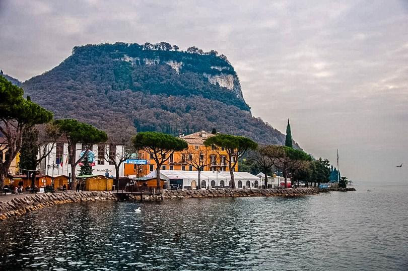 Rocca di Garda seen from Garda Town - Lake Garda, Italy - rossiwrites.com