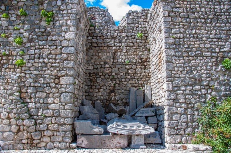 Ruins left by the earthquake in 1976 - Venzone, Friuli Venezia Giulia, Italy - rossiwrites.com