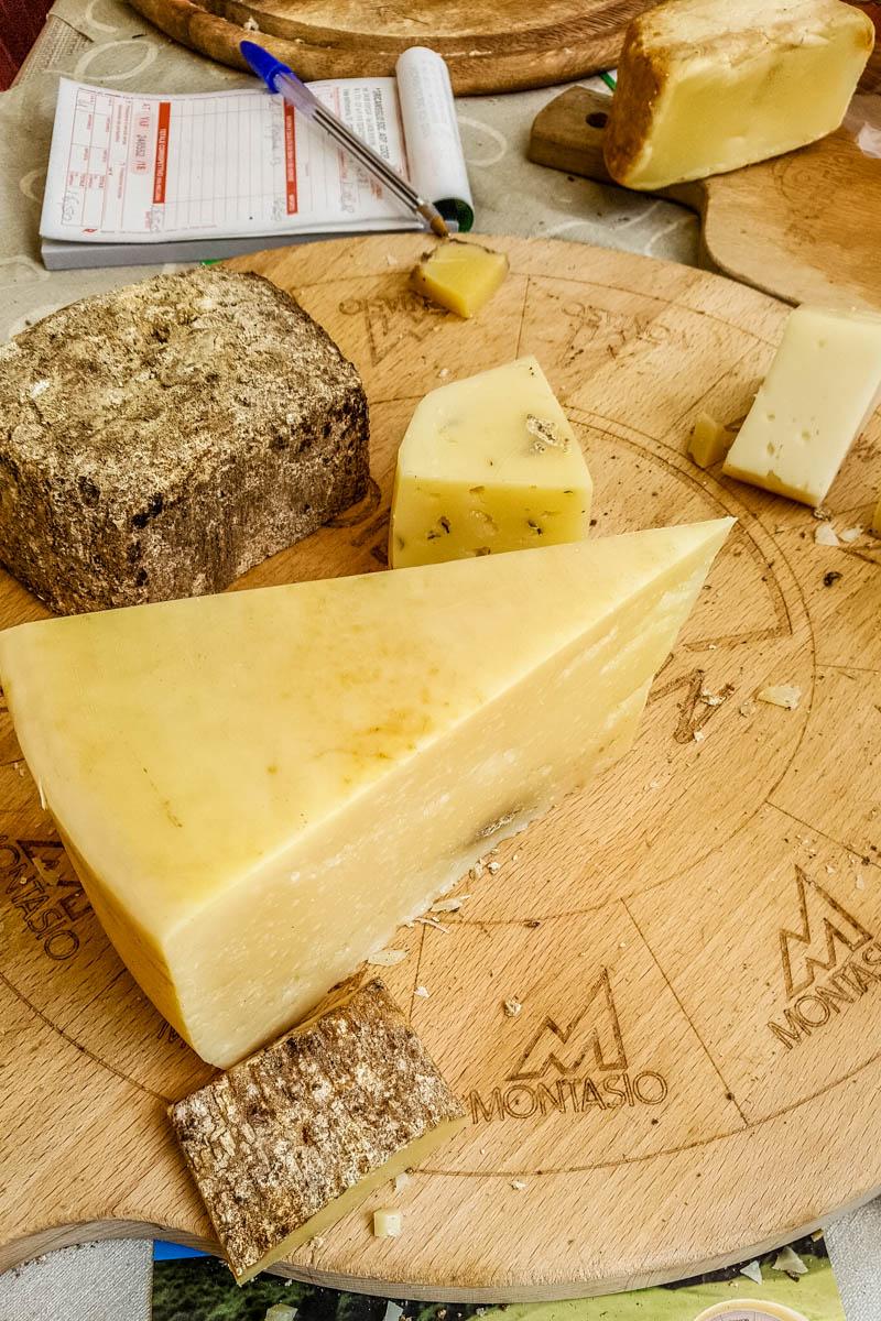 The cheese stall - Grotta di San Lucio - Grotte di Caglieron, Fregona, Veneto, Italy - www.rossiwrites.com