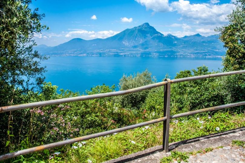 The lake seen from the village - Crero, Lake Garda, Veneto, Italy - rossiwrites.com