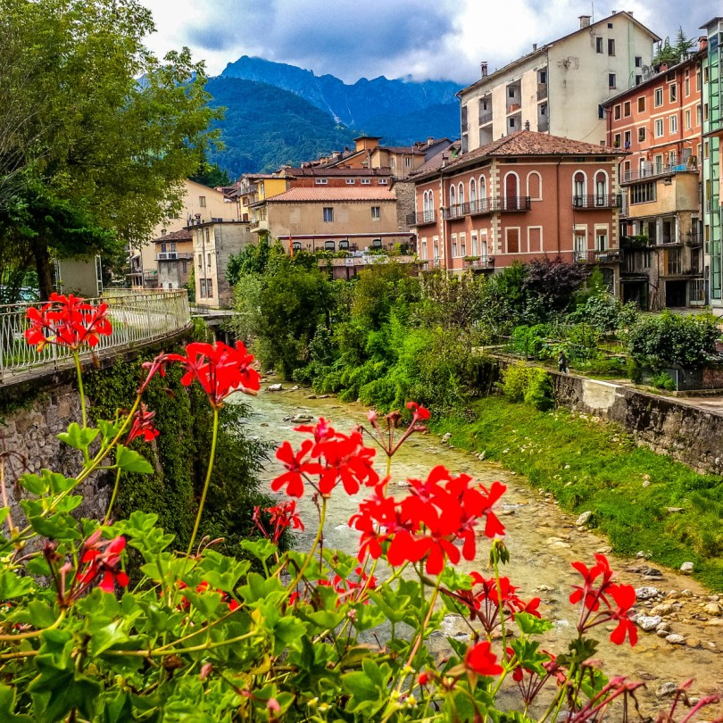 View of Recoaro Terme, Veneto, Italy - rossiwrites.com